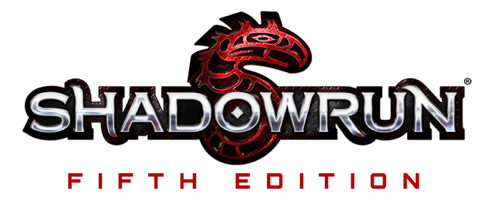 Shadowrun 5 Logo with Text