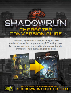Character Conversion Guide
