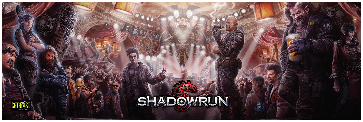 Shadowrun, Fifth Edition GM Screen - Dante's Inferno