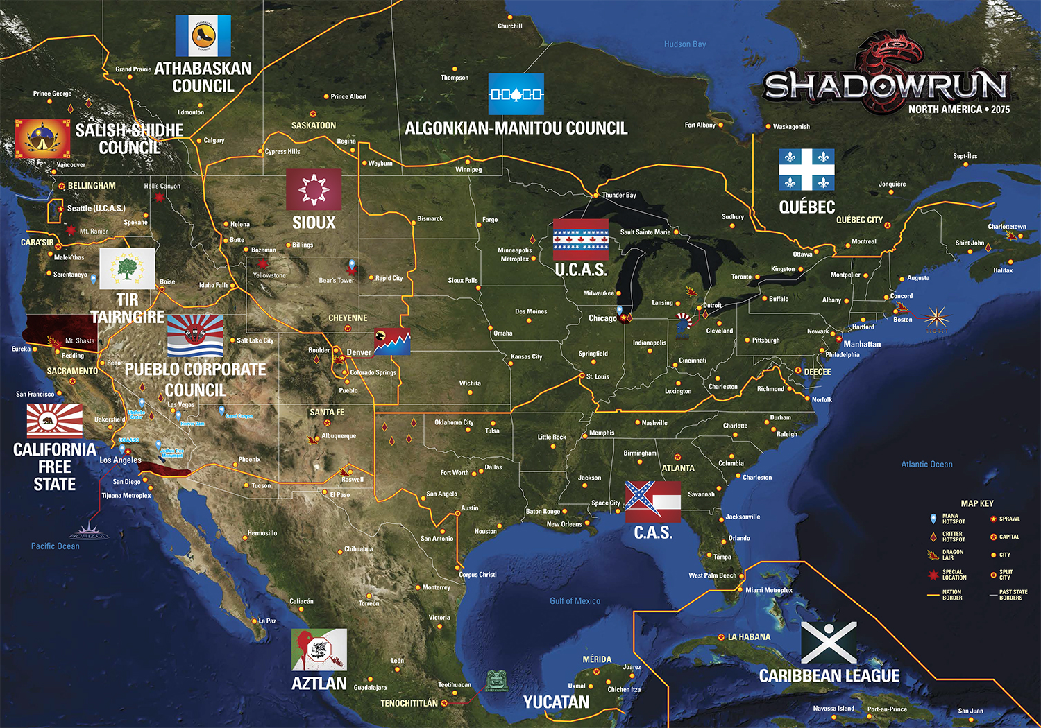 All Shadowrun maps (custom Google Maps, images, )   Let's catch