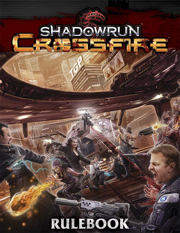 Shadowrun: Crossfire Rules Booklet
